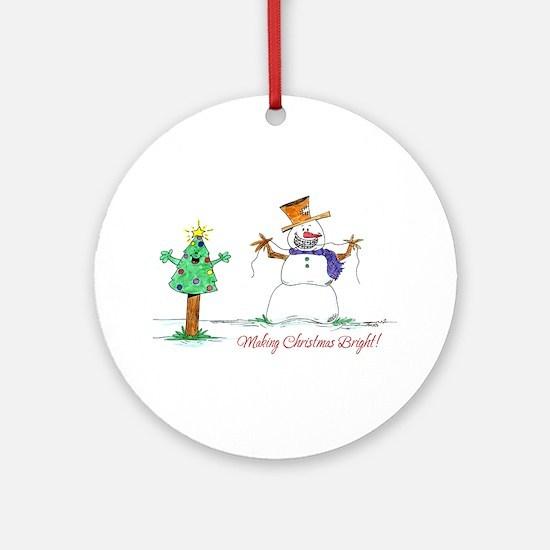 Ortho Kids Ornament (Round)