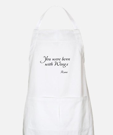 You were born with Wings BBQ Apron