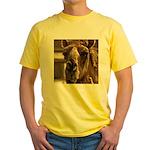 Kiss Me! Yellow T-Shirt