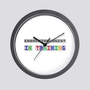 Endocrinologist In Training Wall Clock