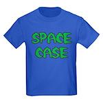 Kids Blue Space Case T-Shirt