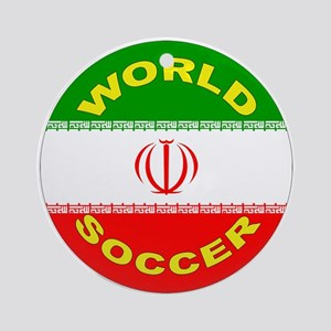 Iran World Cup 2006 Soccer Ornament (Round)