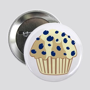 "Blueberry Muffin 2.25"" Button"