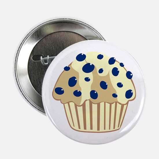 """Blueberry Muffin 2.25"""" Button"""