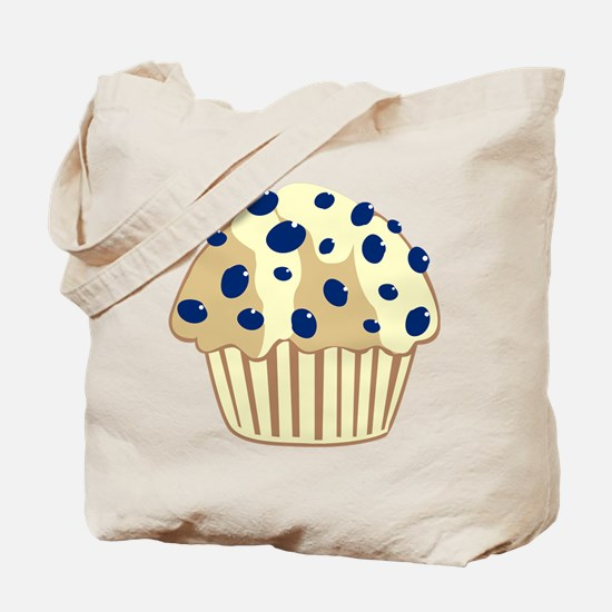 Blueberry Muffin Tote Bag