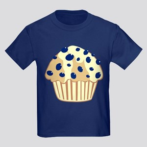 Blueberry Muffin Kids Dark T-Shirt