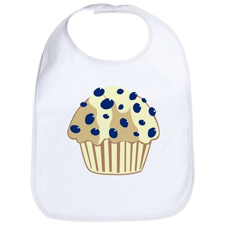 Blueberry Muffin Bib