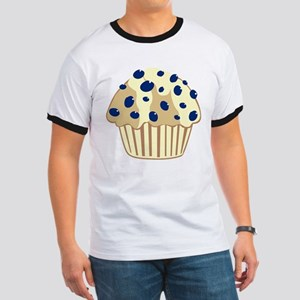 Blueberry Muffin Ringer T