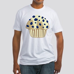 Blueberry Muffin Fitted T-Shirt