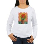 Tulips and Pearls Women's Long Sleeve T-Shirt