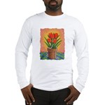 Tulips and Pearls Long Sleeve T-Shirt