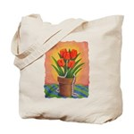 Tulips and Pearls Tote Bag