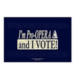 I'm Pro Opera Postcards (Package of 8)