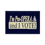 I'm Pro Opera Rectangle Magnet (10 pack)