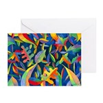 Leaves on Water Greeting Cards (Pk of 10)
