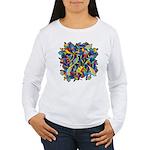 Leaves on Water Women's Long Sleeve T-Shirt