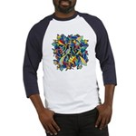 Leaves on Water Baseball Jersey