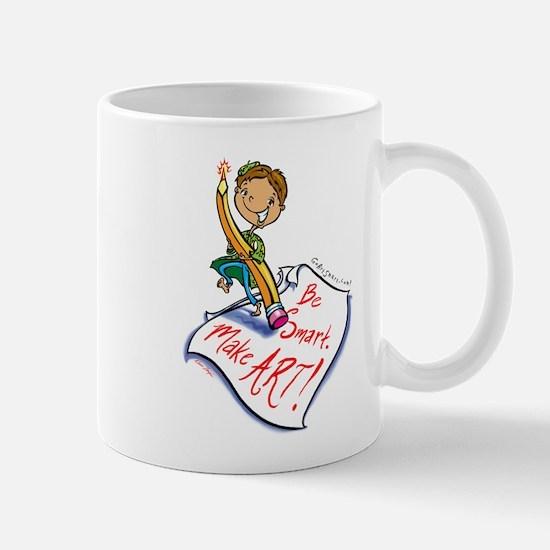 Art Smart Boy Mug