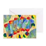 Poker Abstract Greeting Cards (Pk of 10)