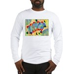 Poker Abstract Long Sleeve T-Shirt