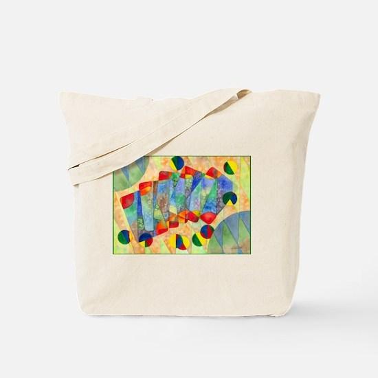 Poker Abstract Tote Bag