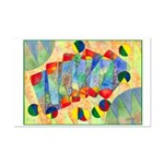 Poker Abstract Mini Poster Print