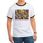 Color Shards Ringer T