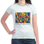 Color Shards Jr. Ringer T-Shirt