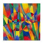 Color Shards Tile Coaster