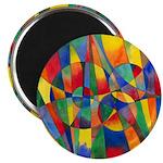 Color Shards Magnet