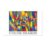 Color Shards Mini Poster Print
