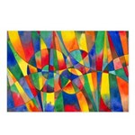 Color Shards Postcards (Package of 8)