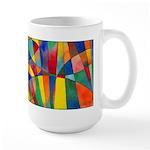 Color Shards Large Mug