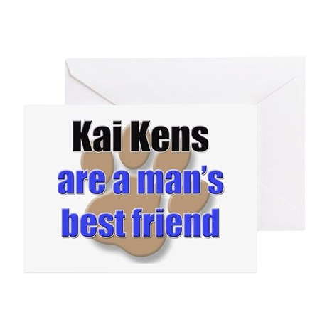 Kai Kens man's best friend Greeting Cards (Pk of 1