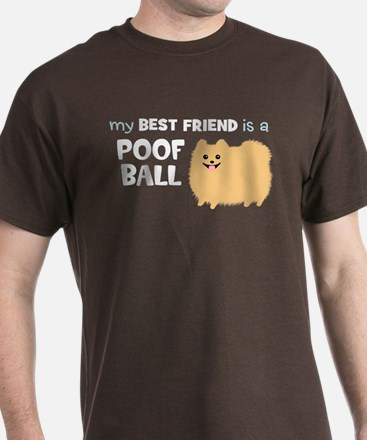 Pomeranian Poof Ball T-Shirt