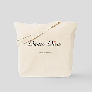 Dance Diva Tote Bag