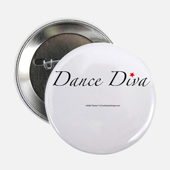 "Dance Diva 2.25"" Button"