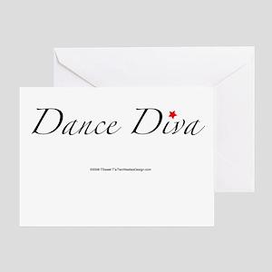 Dance Diva Greeting Card