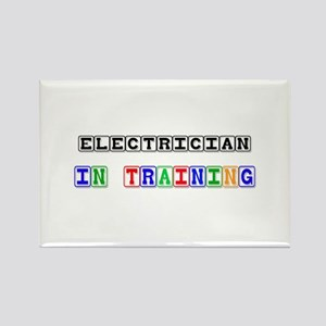Electrician In Training Rectangle Magnet