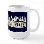 I'm Pro Opera Dark Large Mug