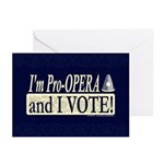 I'm Pro Opera Greeting Cards (Pk of 20)