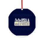 I'm Pro Opera Ornament (Round)