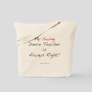 My Swing Dance Teacher Tote Bag