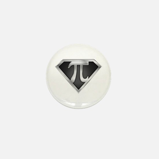 SuperPI(metal) Mini Button