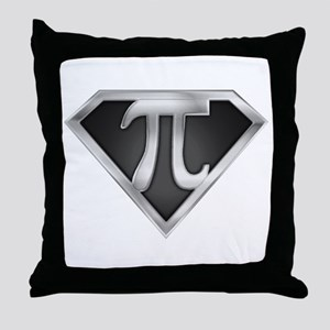 SuperPI(metal) Throw Pillow