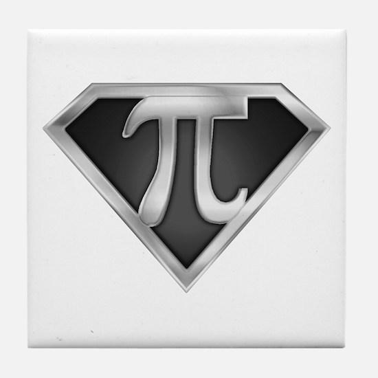 SuperPI(metal) Tile Coaster