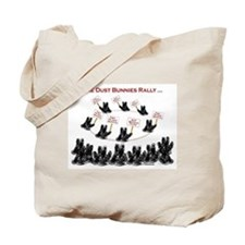 Save the Dust Bunnies! Tote Bag