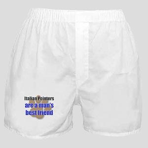 Italian Pointers man's best friend Boxer Shorts