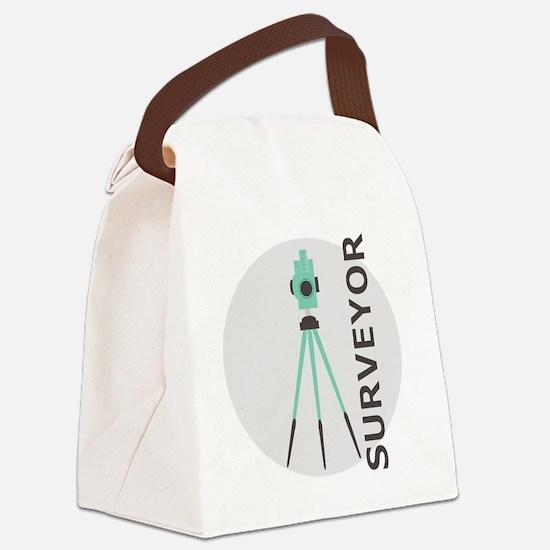Unique Civil engineer Canvas Lunch Bag