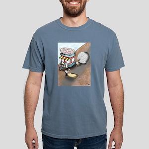 Sisyphus's Extra Thin Crust Pizza White T-Shirt